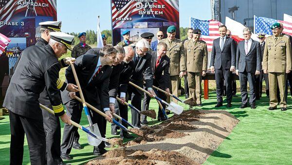 Ceremonia de inauguración de una base de EEUU en Redzikowo - Sputnik Mundo