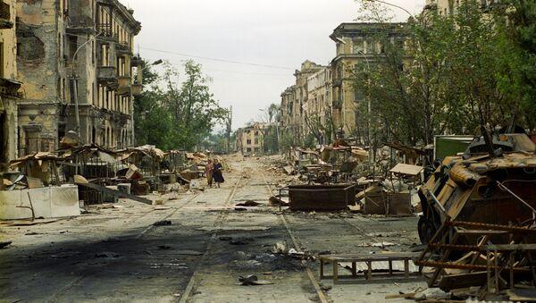 Conflicto en Chechenia, 1994-1996 - Sputnik Mundo