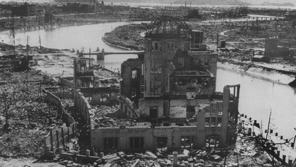 Hiroshima en septiembre de 1945 - Sputnik Mundo