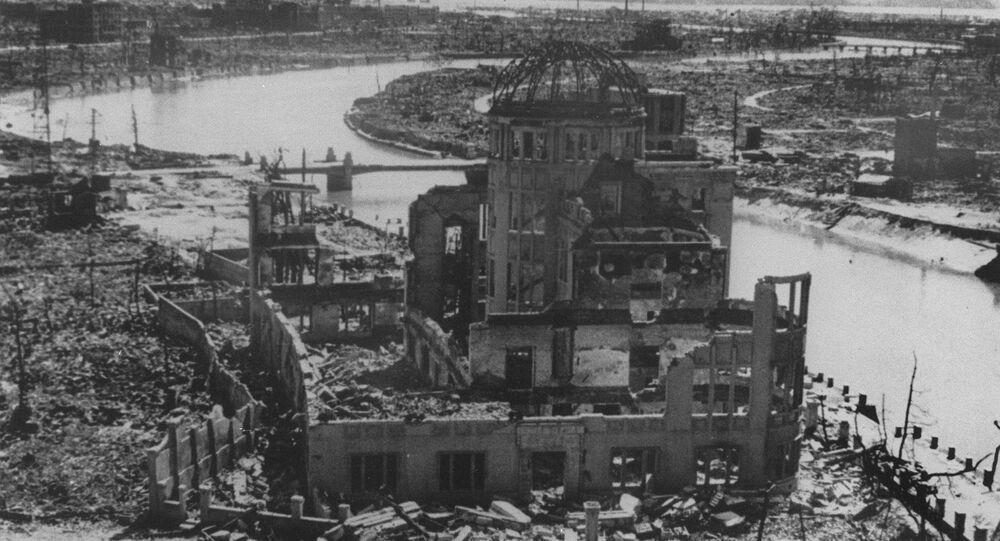 Hiroshima en septiembre de 1945
