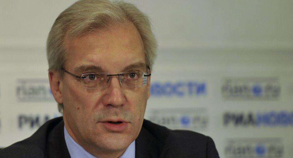 Alexandr Grushkó, embajador ruso ante la OTAN