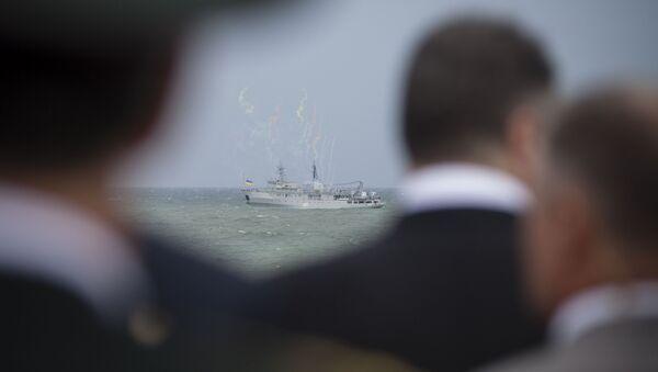 Un buque de las Fuerzas Navales de Ucrania (archivo) - Sputnik Mundo