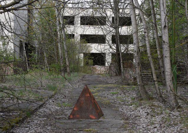 La zona de exclusión de la central nuclear de Chernóbil