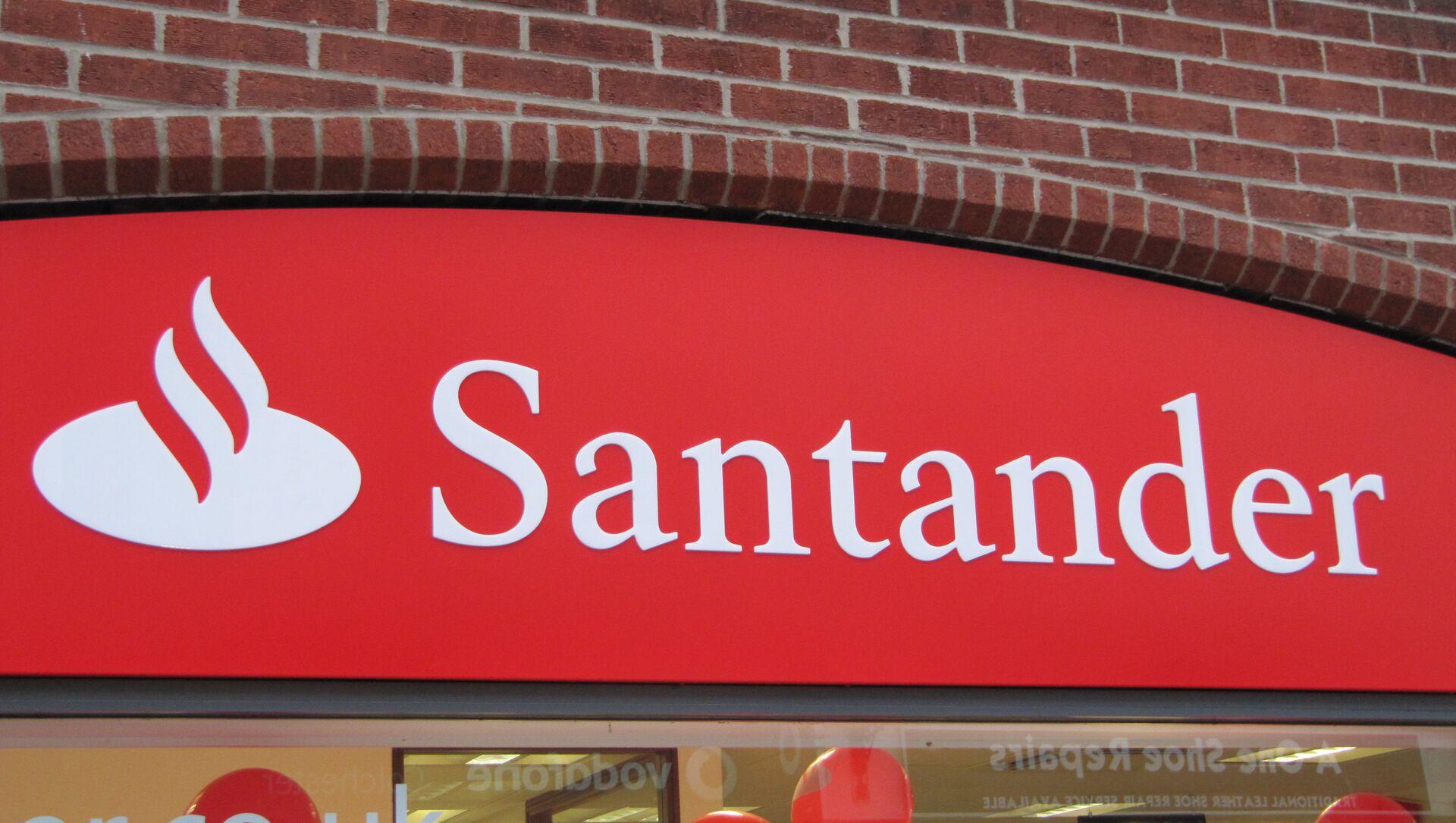 Logo del Banco Santander - Sputnik Mundo, 1920, 02.11.2020