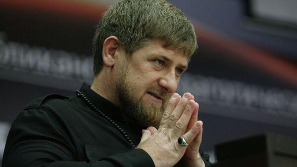 Ramzán Kadirov, dirigente en funciones de la República de Chechenia - Sputnik Mundo