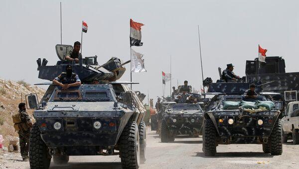 Policía federal de Irak - Sputnik Mundo