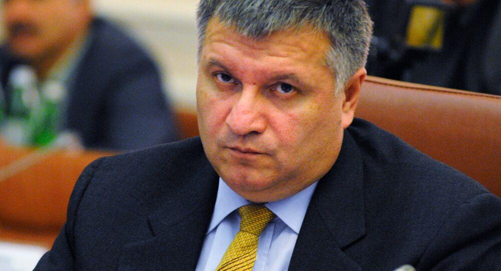 Arsén Avákov, ministro de Asuntos Interiores de Ucrania (archivo)
