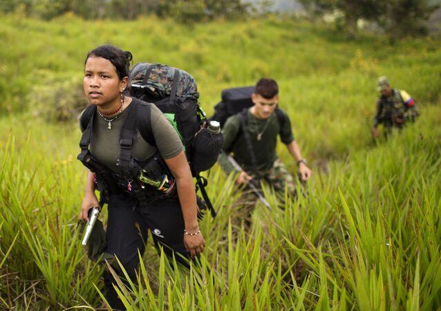 Miembros de la FARC