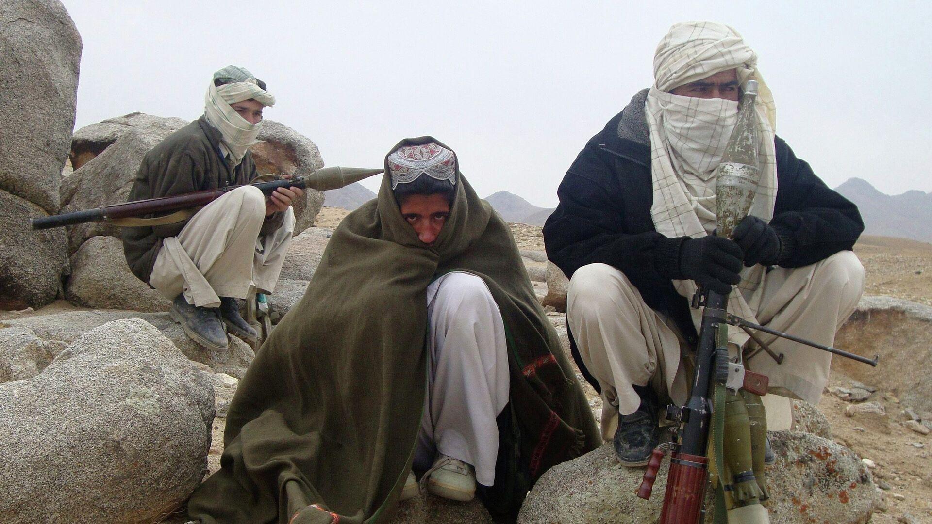 Combatientes de Talibán - Sputnik Mundo, 1920, 10.08.2021