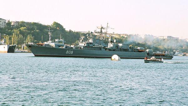 La fragata rusa Pitlivi - Sputnik Mundo