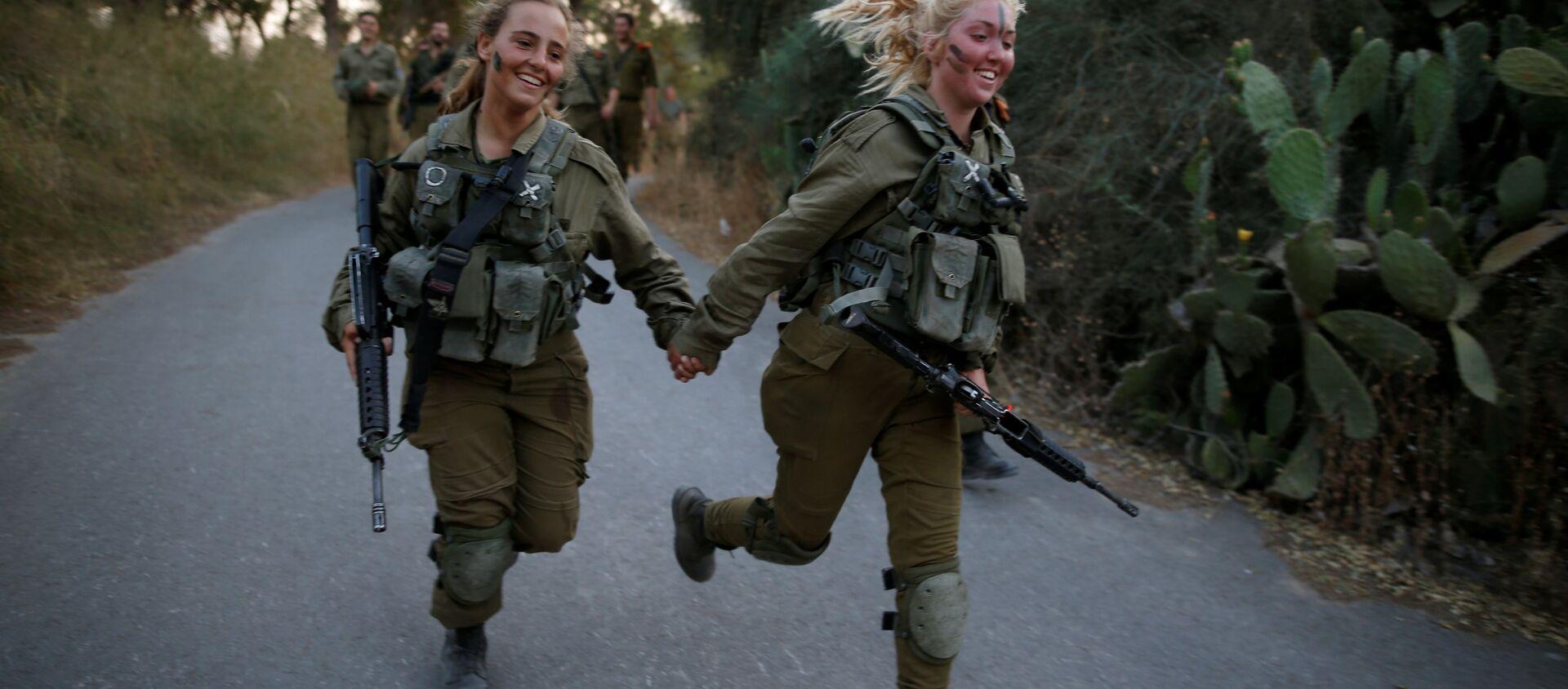Las damas de hierro: las militares del Ejército israelí - Sputnik Mundo, 1920, 25.05.2016