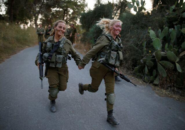 Mujeres del Ejército israelí (Archivo)