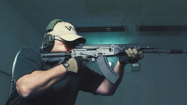 AK 400 Series Kalashnikov Pre Production Prototype - Sputnik Mundo