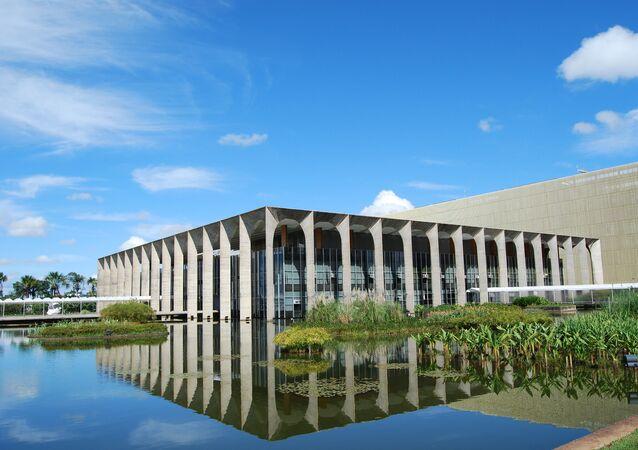 Palácio do Itamaraty, sede del Ministerio de Exteriores de Brasil