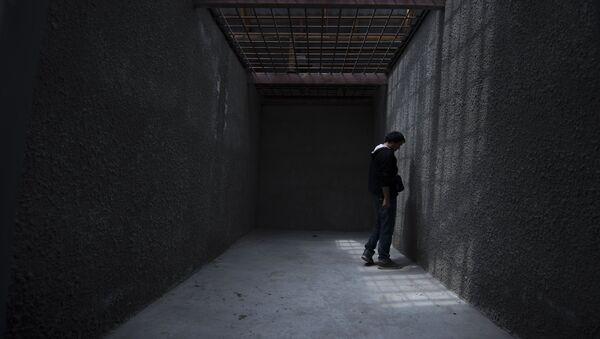 Un preso en una cárcel - Sputnik Mundo