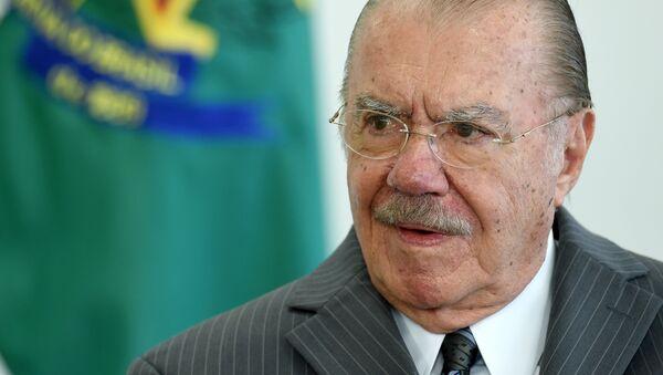 Expresidente de Brasil, José Sarney - Sputnik Mundo