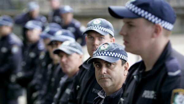 Policía de Australia (Archivo) - Sputnik Mundo