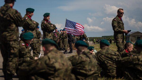 Militares de la OTAN en Polonia - Sputnik Mundo