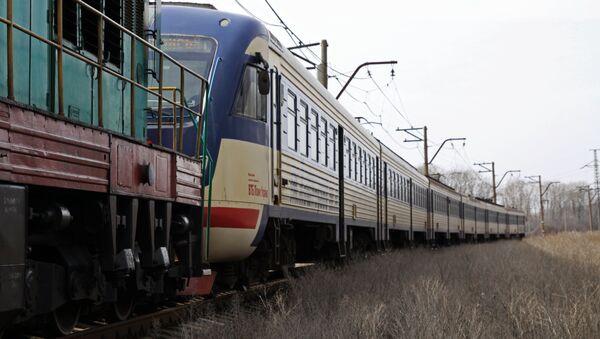 Un tren ucraniano - Sputnik Mundo