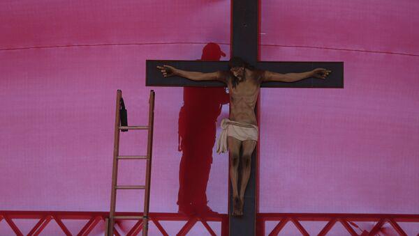 Celebraciones del Corpus Christi en Brasil - Sputnik Mundo