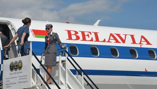 Avión de la aerolínea bielorrusa Belavia - Sputnik Mundo
