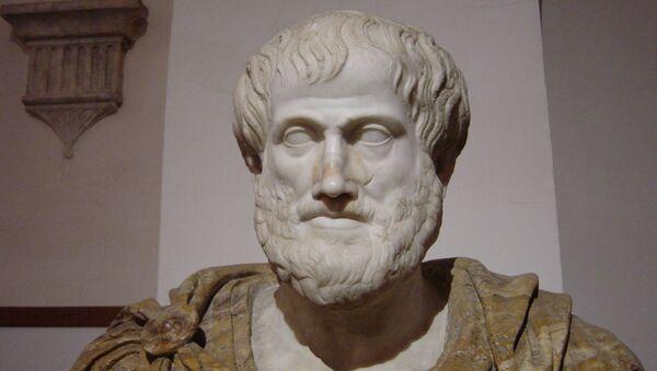 Busto de Aristóteles en Roma, Palazzo Altemps - Sputnik Mundo