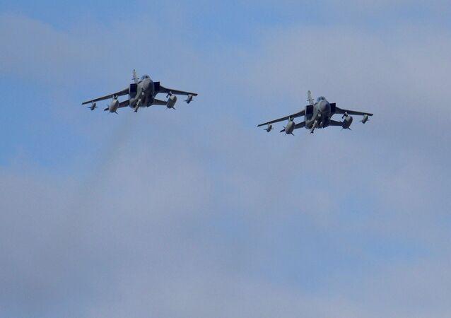 Dos aviones británicos después de llevar a cabo un ataque contra Daesh (archivo)