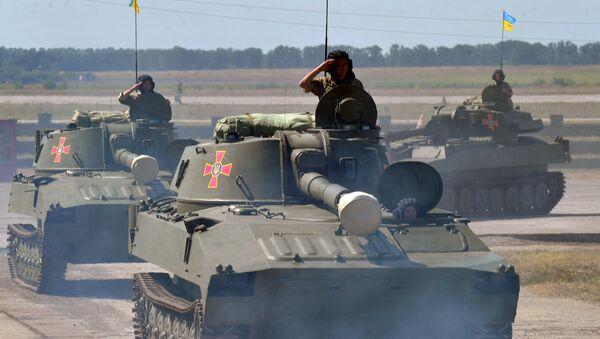 Tanques ucranianos - Sputnik Mundo