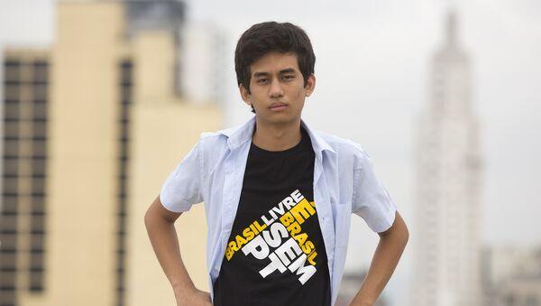 Kim Kataguiri, fundador e impulsor del Movimiento Brasil Libre - Sputnik Mundo