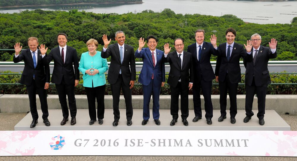 Los líderes del G7