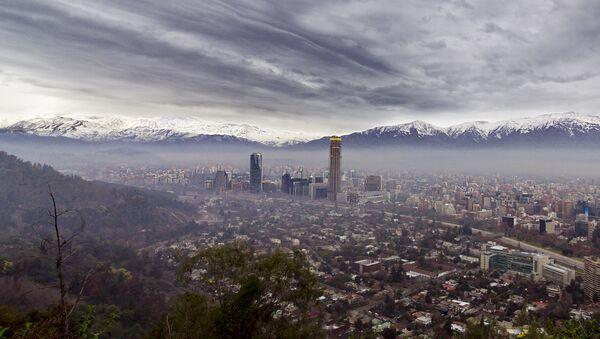 La ciudad de Santiago de Chile - Sputnik Mundo