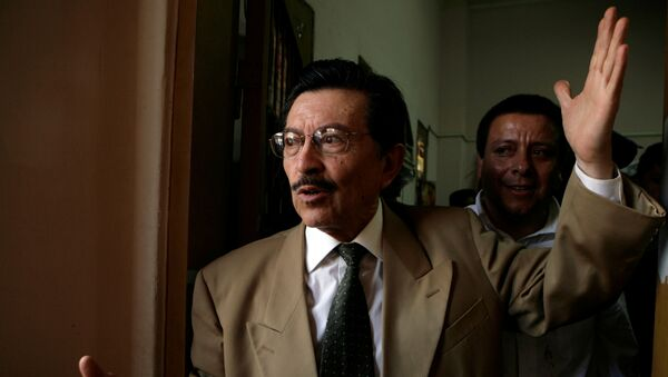 Martín Almada, abogado paraguayo - Sputnik Mundo