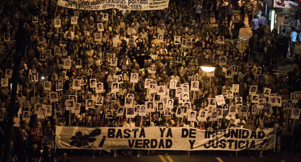 Marcha del Silencio en Montevideo