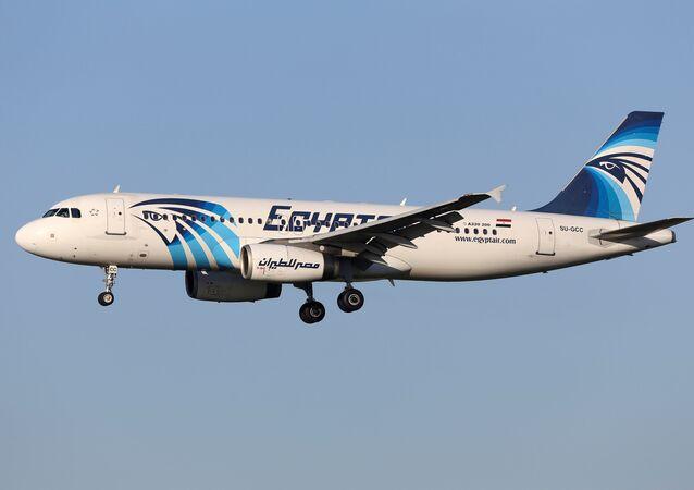El avión Airbus A320 siniestrado en vuelo en los cielos de Bélgica en 2015
