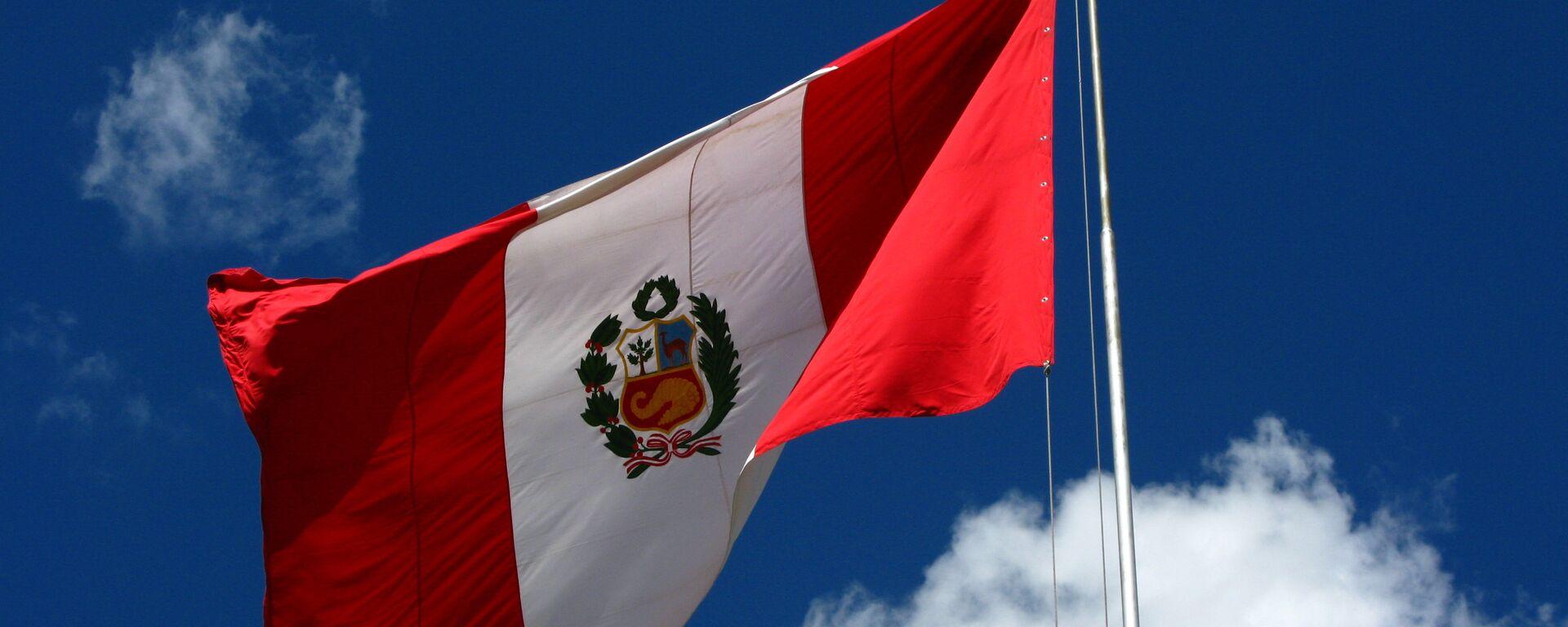 Bandera del Perú - Sputnik Mundo, 1920, 04.06.2021