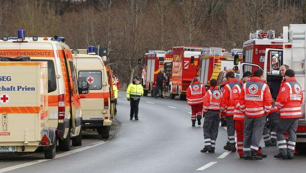 Ambulancia alemana (imagen referencial) - Sputnik Mundo