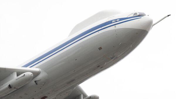 El puesto de mando volador ruso Il-80 - Sputnik Mundo