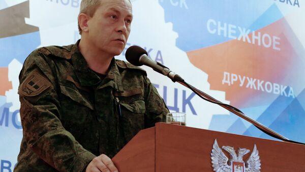 Eduard Basurin, vicecomandante de las milicias de la República Popular de Donetsk - Sputnik Mundo