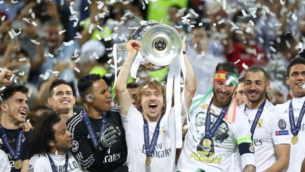 El triunfo del Real Madrid en la Liga de Campeones - Sputnik Mundo