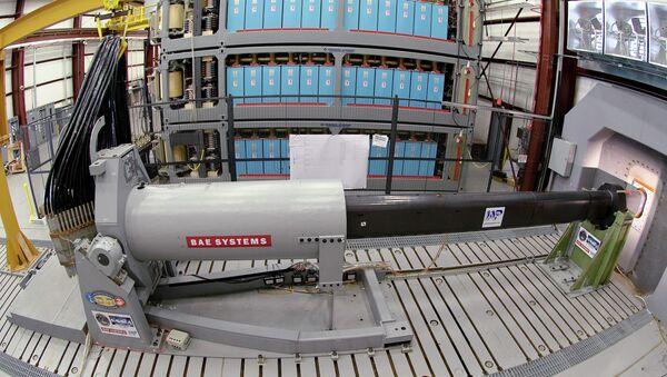 Prototipo del cañón electromagnético - Sputnik Mundo