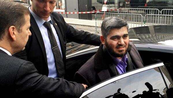 Mohamed Alush, el negociador jefe del Alto Comité de Negociaciones - Sputnik Mundo