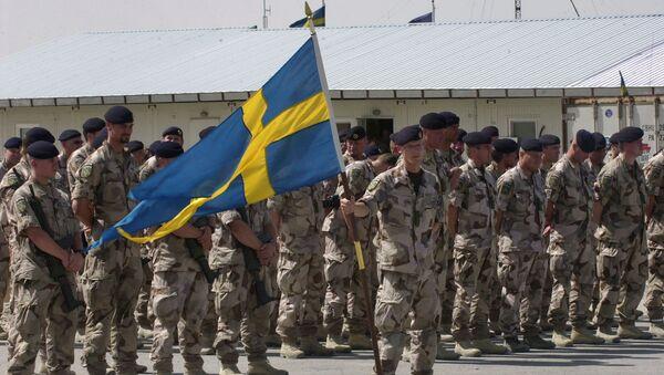 Soldados suecos - Sputnik Mundo