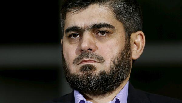 Mohamed Alush, ex negociador jefe del opositor sirio ACN - Sputnik Mundo