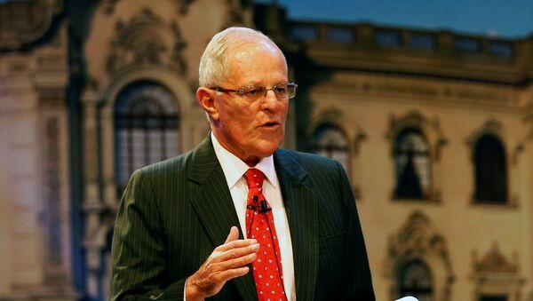 Pedro Pablo Kuzcynski, presidente de Perú (archivo) - Sputnik Mundo