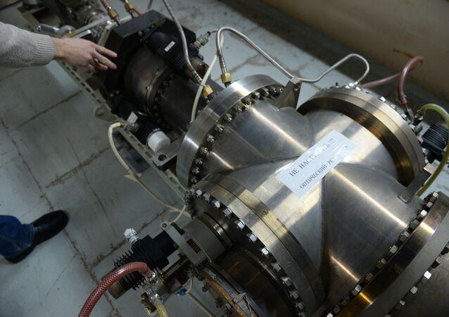 Una instalación láser