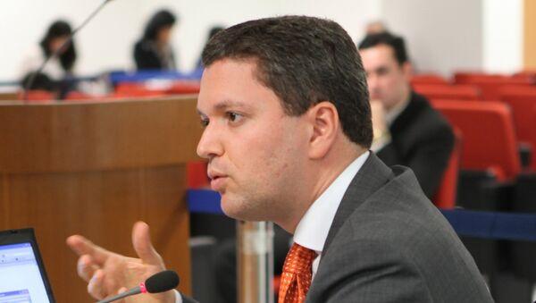 Fabiano Silveira, ministro de Transparencia de Brasil - Sputnik Mundo