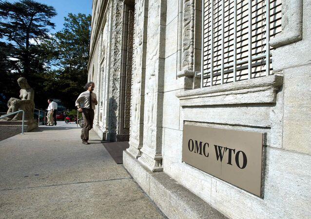La sede de la OMC en Ginebra, Suiza