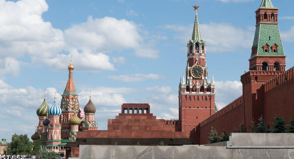 Kremlin La Plaza Roja Moscú Rusia