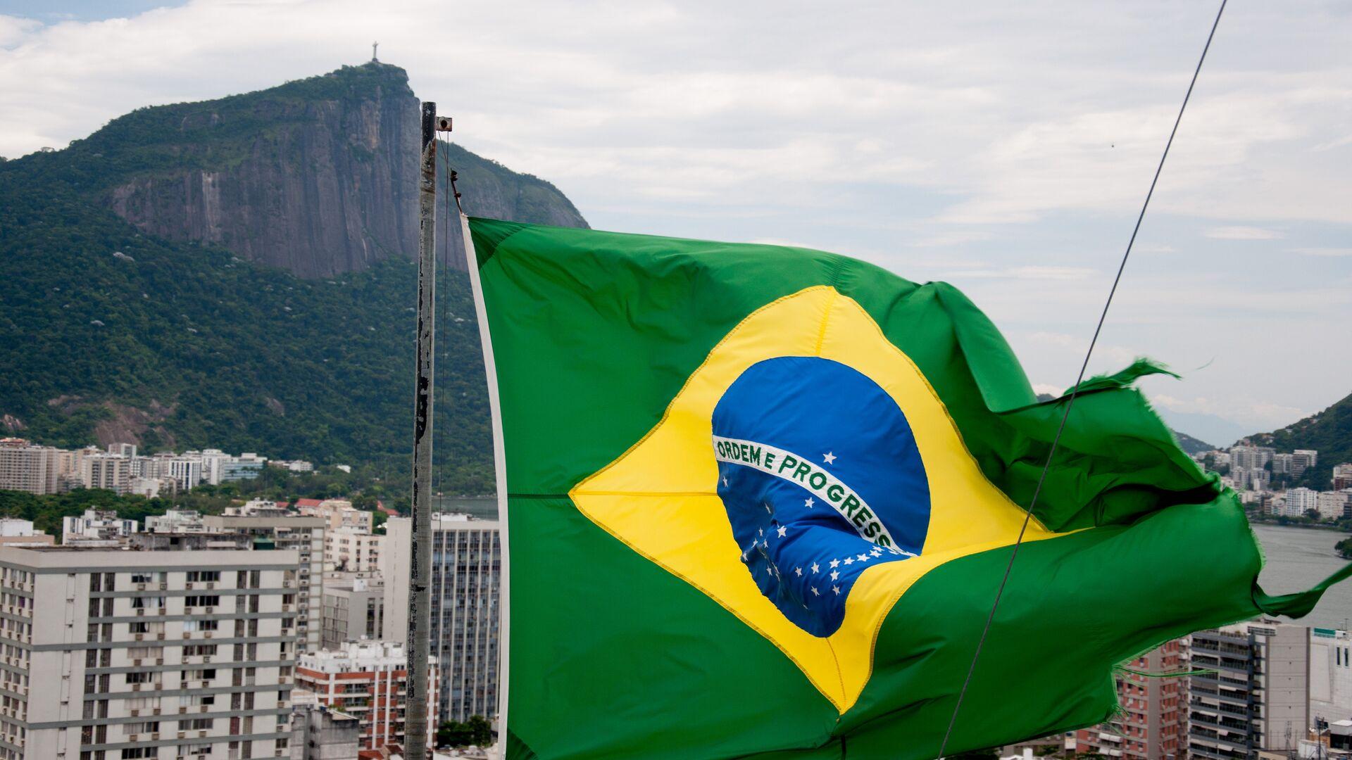Bandera de Brasil  - Sputnik Mundo, 1920, 06.04.2021