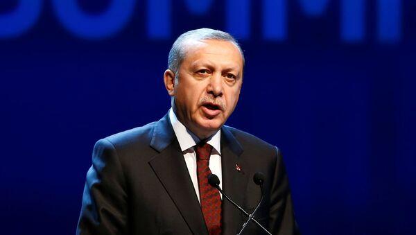 Recep Tayiip Erdogan, presidente de Turquía - Sputnik Mundo